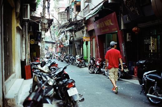 hanoi - small lane, small street